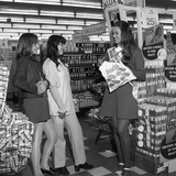 Miss Great Britain at Asda for a Promotion of Lux Soap, Rotherham, South Yorkshire, 1972 Photographic Print by Michael Walters