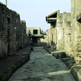 A Street of Houses, Pompeii, Italy Photographic Print by CM Dixon
