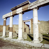 Columns of the Colonnade Round the Forum, Pompeii, Italy Photographic Print by CM Dixon