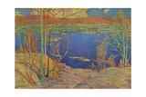 Spring Ice, 1916, (1937) Giclee Print by Thomas John Thomson