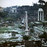 The Roman Forum, 2nd-5th Century Photographic Print by CM Dixon