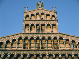 Church of San Michele, Lucca, Tuscany Photographic Print by Peter Thompson