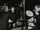 Drummers Les Demerle and Kenny Clare, London, 1979 Photographic Print by Denis Williams