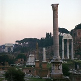 The Roman Forum in the Evening, 2nd Century Photographic Print by CM Dixon