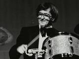 Drummer Barrett Deems Playing in Stevenage, Hertfordshire, 1984 Photographic Print by Denis Williams