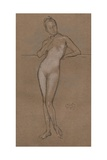 Little Nude, C1888 Giclee Print by James Abbott McNeill Whistler