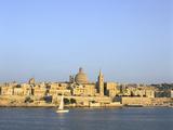 Valletta, Viewed from Sliema, Malta Photographic Print by Peter Thompson