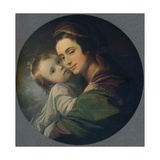 Mrs. West and Child, 1770 Giclee Print by Benjamin West