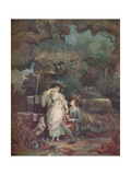 Fortune and Misfortune, or the Broken Pitcher, 1787 Giclee Print by Louis Philibert Debucourt