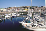 Marina, Albert Harbour, St Helier, Jersey, Channel Islands Photographic Print by Peter Thompson
