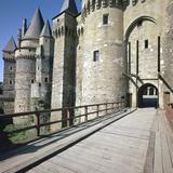 Chatlan at Vitre Castle, 14th Century Photographic Print by CM Dixon
