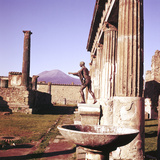 The Temple of Apollo, Pompeii, Italy Photographic Print by CM Dixon