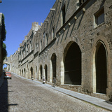 The Old Town of Rhodes Photographic Print by CM Dixon
