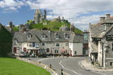 Corfe Castle, Dorset Photographic Print by Peter Thompson