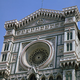 West Front of the Basilica Di Santa Maria Del Fiore, 15th Century Photographic Print by CM Dixon