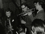 The Tubby Hayes Sextet Playing at the Co-Op Civic Centre, Bristol, 1950S. Pictured are Tubby Hayes Photographic Print by Denis Williams