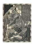 Hereward the Wake at Ely, 1902 Giclee Print by Patten Wilson