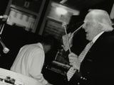 Peter Appleyard Playing the Vibraphone at the Fairway, Welwyn Garden City, Hertfordshire, 1999 Photographic Print by Denis Williams