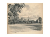Windsor Castle from the Home Park, 1902 Reproduction procédé giclée par Thomas Robert Way