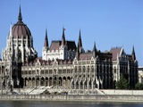 Parliament Building, Budapest, Hungary Photographic Print by Peter Thompson
