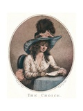 The Choice, C18th Century Giclee Print by William Ward
