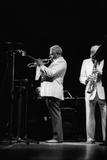 Dizzy Gillespie, Capital Jazz, Royal Festival Hall, London, 1985 Papier Photo par Brian O'Connor
