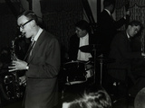 The John Cox Trio and Derek Humble Playing at the Civic Restaurant, Bristol, 1955 Photographic Print by Denis Williams