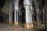 Prayer Room of the Great Mosque in Kairouan, 7th Century Stampa fotografica di CM Dixon