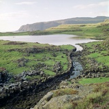 Canal Near the Promontory Fort at Ruadha a Dunain Photographic Print by CM Dixon