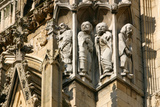 Detail of Stonework, York Minster, North Yorkshire Photographic Print by Peter Thompson