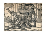 The Murder of Thomas a Becket, 1902 Giclee Print by Patten Wilson
