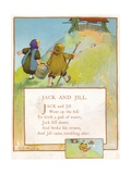 Jack and Jill, C1903 Giclee Print by EA Keck