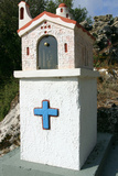 Roadside Shrine, Kefalonia, Greece Photographic Print by Peter Thompson