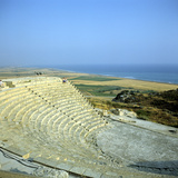 Ancient Roman Theatre, Curium, Limassol, Cyprus Photographic Print by Peter Thompson