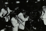Jazz Group Playing at the Forum Theatre, Hatfield, Hertfordshire, 1984 Photographic Print by Denis Williams