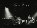 Weather Report in Concert at the Odeon, Birmingham, October 1977 Fotodruck von Denis Williams