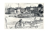 The Pool of London, 1859, (1904) Giclee Print by James Abbott McNeill Whistler