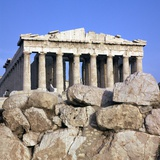 The Parthenon, 5th Century Bc Photographic Print by CM Dixon