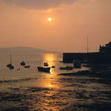 Sunset, Weston-Super-Mare, Somerset Photographic Print by Peter Thompson