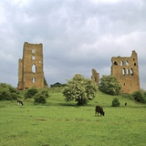 Sheriff Hutton Castle, 12th Century Photographic Print by CM Dixon