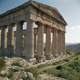 Doric Temple in Sicily, 5th Century Bc Photographic Print by CM Dixon