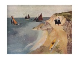 Seascape, Treboul, C1929, (1938) Giclee Print by Christopher Wood