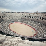 The Ruins of a Roman Arena in France, 2nd Century Bc Photographic Print by CM Dixon