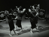 All-Female Quartet the Fairer Sax Performing at the Forum Theatre, Hatfield, Hertfordshire, 1987 Photographic Print by Denis Williams