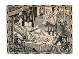 Death of King Richard I, 1902 Giclee Print by Patten Wilson