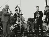 Jazz at Knebworth, Hertfordshire, 1982 Photographic Print by Denis Williams