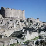 Ruins of the Roman City of Thugga, 3rd Century Reproduction photographique par CM Dixon
