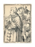 The Arrest of Cardinal Wolsey, 1902 Giclee Print by Patten Wilson
