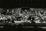 Buddy Rich and the Royal Philharmonic Orchestra in Concert at the Royal Festival Hall, London, 1985 Photographic Print by Denis Williams