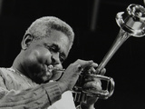 Dizzy Gillespie Performing with the Royal Philharmonic Orchestra, Royal Festival Hall, London, 1985 Photographic Print by Denis Williams